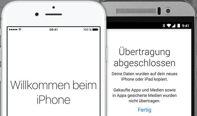 Von Android zu iOS: Umstieg leicht gemacht!