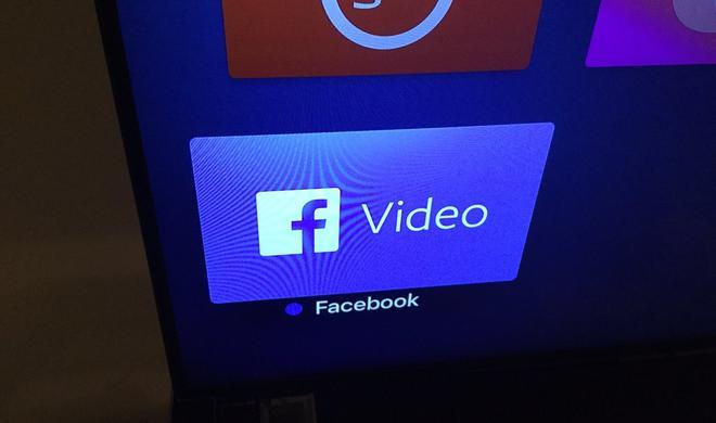 Die Facebook Video-App für Apple TV ist da