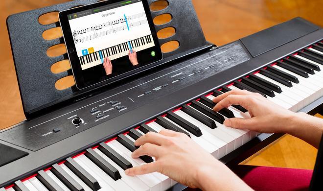 Skoove bringt Ihnen mit dem iPad Klavierspielen bei