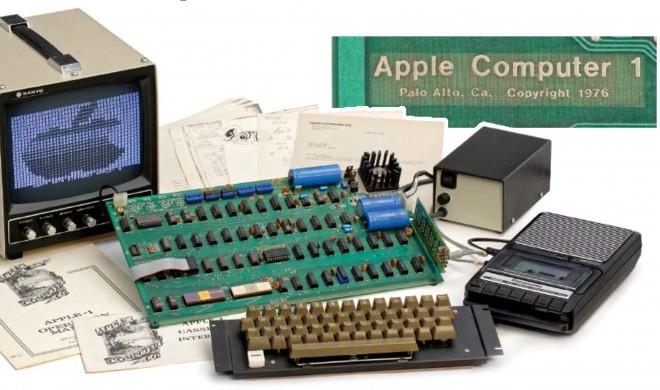 Apple-1: Erster Apple-Computer kommt im Mai unter den Hammer