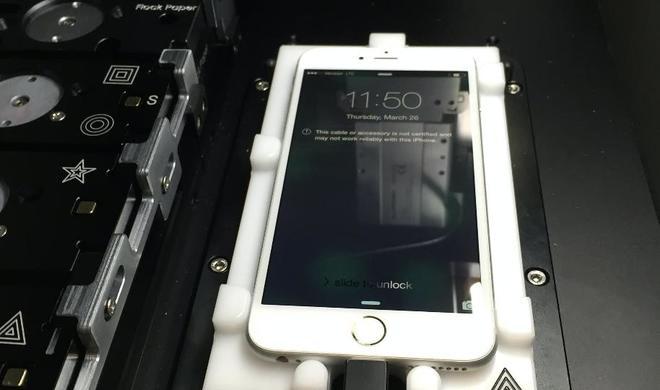 Durch diese Maschine könnte Apple zur einzigen Anlaufstelle für iPhone-Reparaturen werden