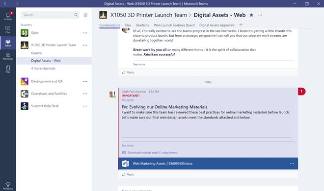 Microsoft Teams will Slack Feuer unter dem Hintern machen