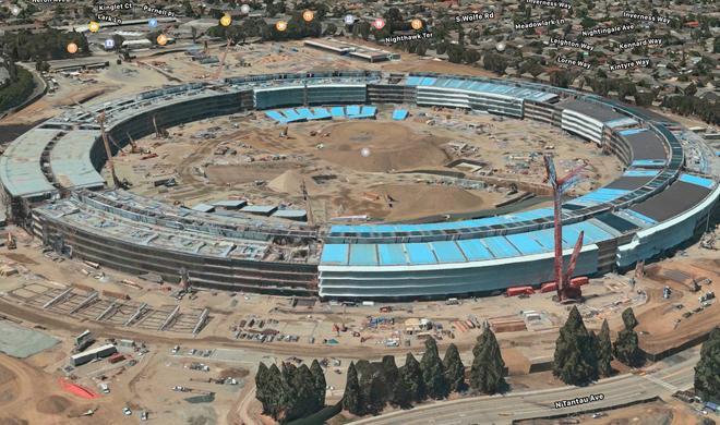 3D: Apple Park Campus jetzt auf Apple Maps besuchen
