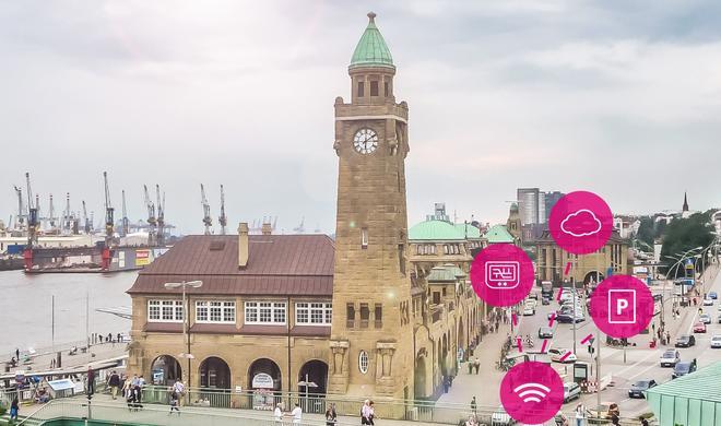 Praktisch: Telekom-App hilft beim Parken in der Innenstadt