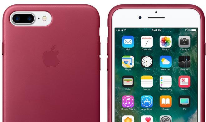 Interessant: Apple stellt neue Silikon- und Leder-Schutzhüllen für iPhone 7 und SE vor