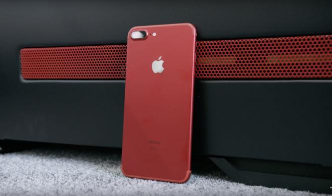 So sieht das neue (PRODUCT)RED iPhone 7 Plus wirklich aus
