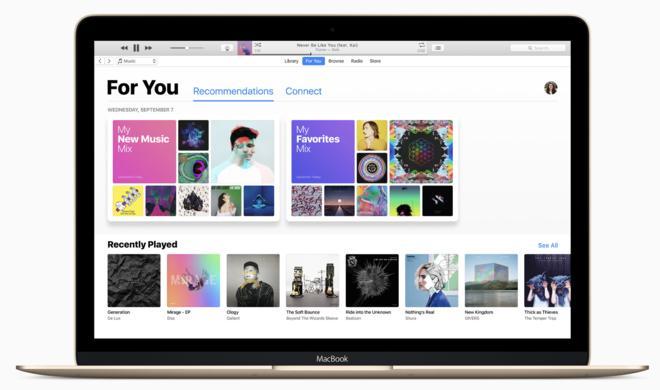 Apple stellt neue Version von iTunes 12.6 bereit & entfernt mysteriöses Feature