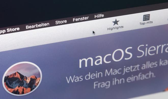 Jetzt mit Night-Shift-Modus: macOS Sierra 10.12.4 von Apple ist da