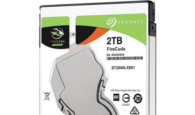 Hybridfestplatte mit Gutschein günstiger kaufen: Seagate FireCuda SSHD 2 TB reduziert