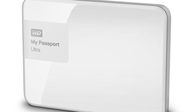 Tragbare Festplatte mit viel Platz: WD My Passport Ultra 2 TB reduziert