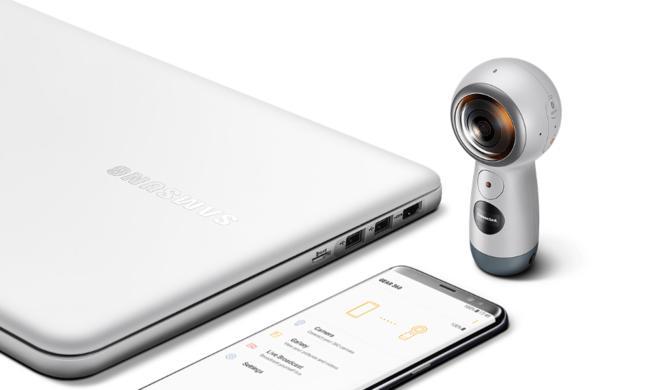 Samsungs neue Gear 360 funktioniert auch mit dem iPhone