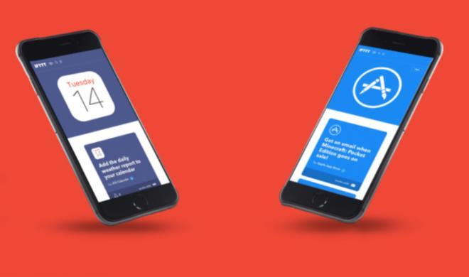 """IFTTT veröffentlicht neue Applets mit """"App Store""""- und iOS-Kalender-Unterstützung"""