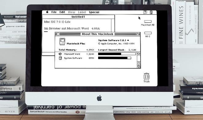 Zurück in die 90er: Mac System 7 im Browser ausprobieren