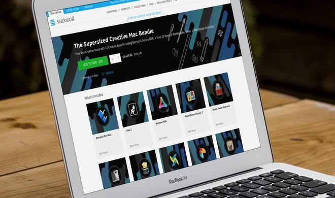 Kreatives Paket für Mac-Nutzer mit Apps und Kursmaterial jetzt günstig