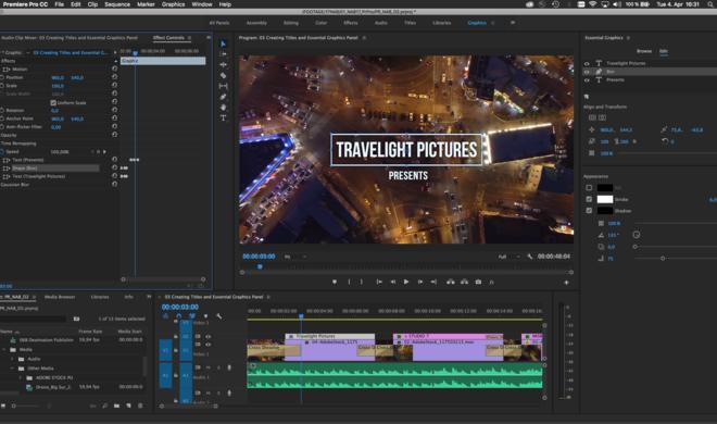 Adobe kündigt Updates für Premiere Pro, After Effects, Charakter Animator und Audition an