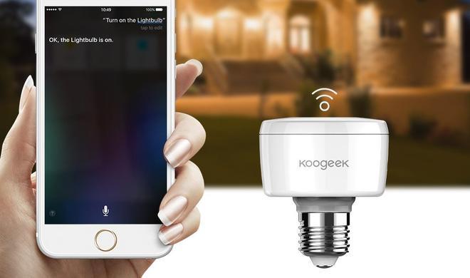Koogeek Smart Socket - damit wird jede Glühbirne HomeKit-fähig