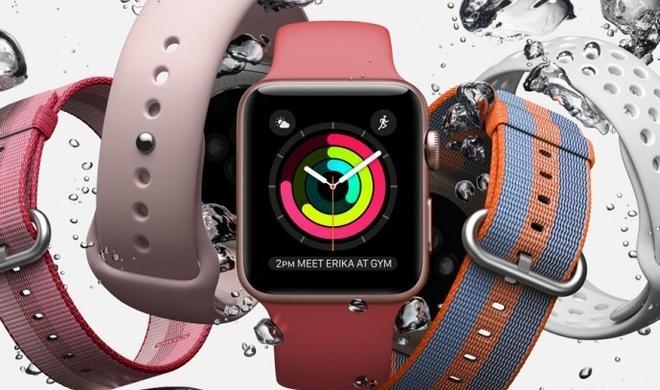 Apple erzeugt künstlichen Schweiß für die Apple Watch