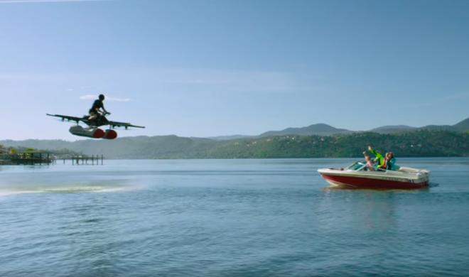 """Erstes Video des """"fliegenden Jet-Ski"""" Kitty Hawk aufgetaucht"""