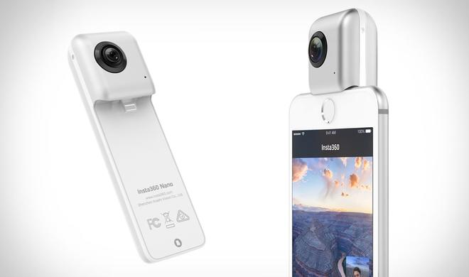 Aufnahmen in 360 Grad mit dem iPhone machen: Insta360 Nano im Angebot