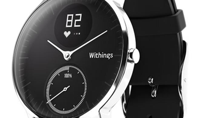 Apple-Watch-Alternative jetzt günstiger: Withings Steel HR reduziert