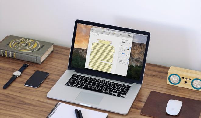 Pages am Mac: So heben Sie Textstellen farblich hervor