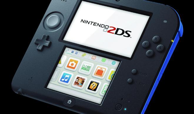 Nintendo 2DS mit Mario Kart 7 reduziert