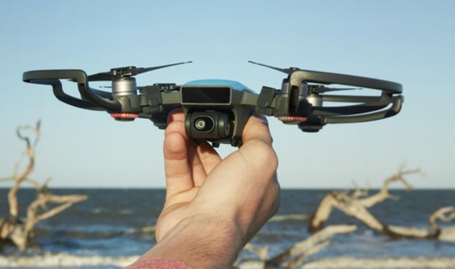 DJI Spark: iPhone-Drohne mit Gestensteuerung vorgestellt