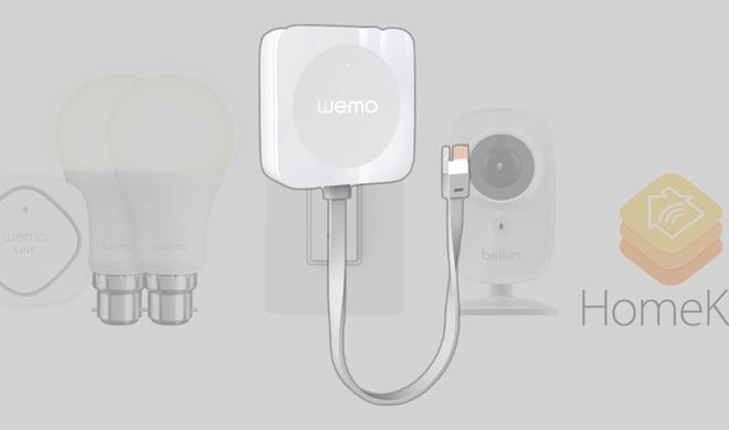 Belkin will sämtliches Wemo-Zubehör mit HomeKit kompatibel machen