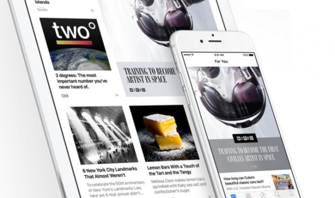 Apple News erstmals mit Chefredaktion
