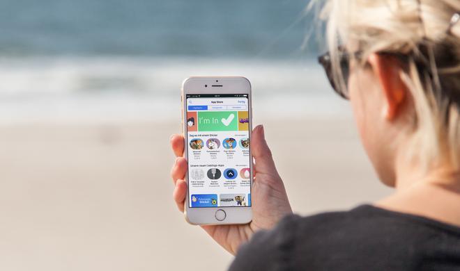 iMessage am iPhone: So installieren Sie Sticker und Apps in der Nachrichten-App