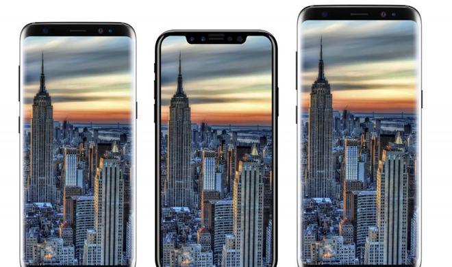 So groß ist das iPhone 8 im Vergleich zum iPhone 7 und dem Galaxy S8