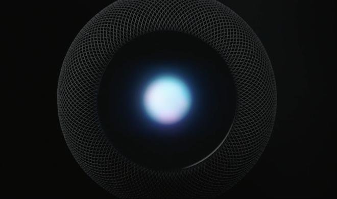 HomePod: Apple stellt Siri-Lautsprechersystem vor