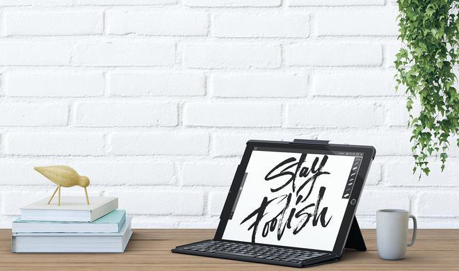 Logitech kündigt Slim Combo Case für das neue iPad Pro mit beleuchteter Tastatur an