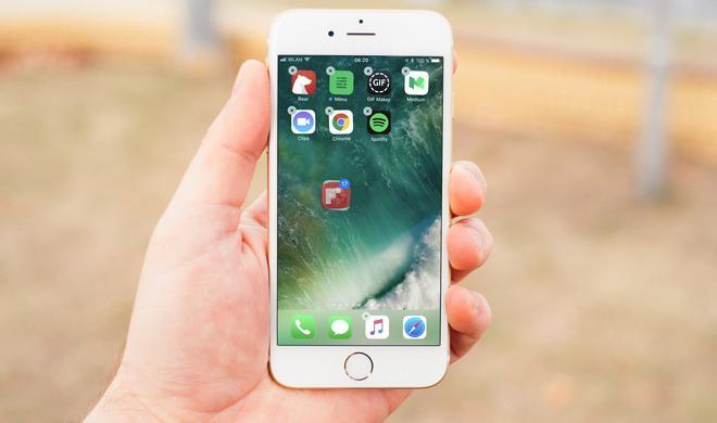 iOS 11: Drag & Drop erlaubt das Verschieben mehrerer Apps am iPhone & iPad