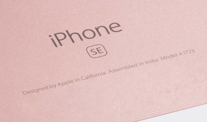 Sie sind da: Die ersten iPhone SE aus indischer Produktion gesichtet