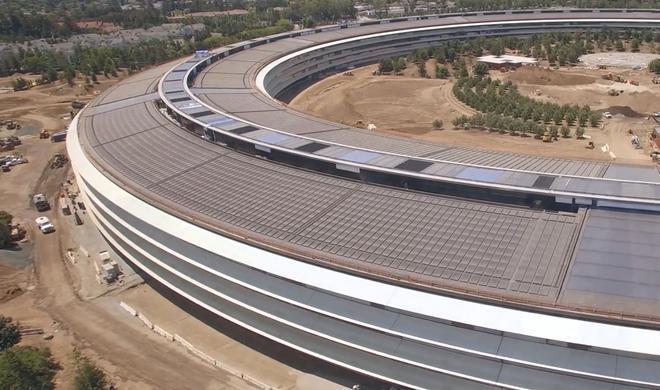 Apple Park: Neues Hauptquartier fast fertig - samt Scheune!