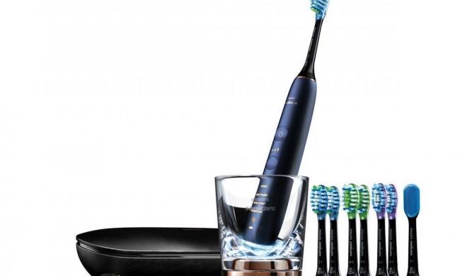 Philips Sonicare mit iPhone-Zahnbürste und vernetzten Bürstenköpfen