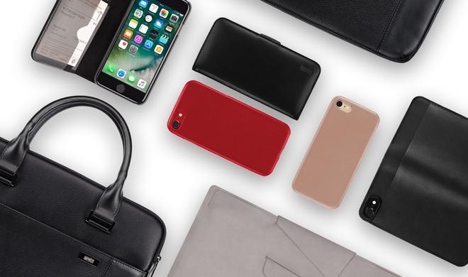 Mehr Eleganz: Lederschutz für iPhone & Co