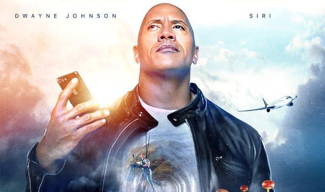 """So erobern Dwayne """"The Rock"""" Johnson und Siri die Welt"""