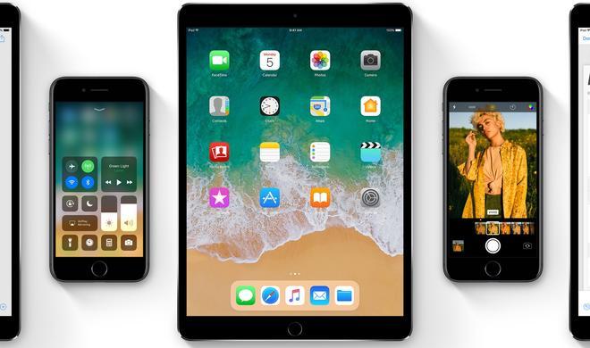 iOS 11 Beta 4 ist da