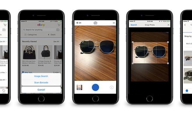 eBay integriert Bildersuche in seiner App