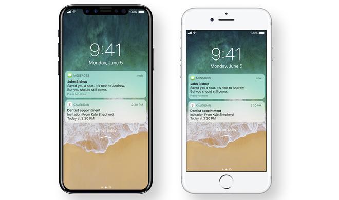 iPhone 8: HomePod-Firmware verrät weitere Details zur Statusleiste und Touch ID