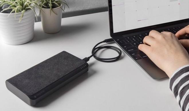 Akku Mophie Powerstation USB-C XXL macht MacBook zum Langläufer