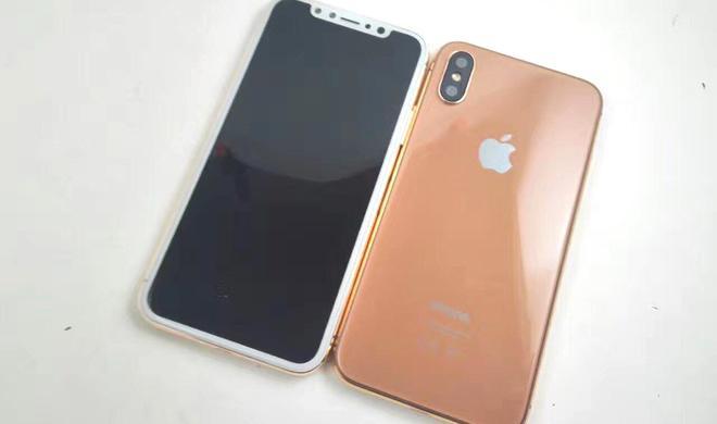 Fotos aufgetaucht: iPhone 8 kommt in einer neuen Farbe