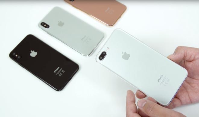 iPhone 8 & iPhone 7s Plus zeigen sich im Videovergleich