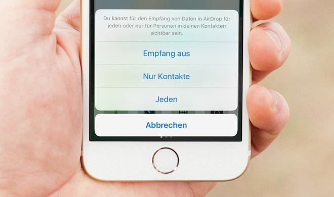 Airdrop: Belästigung auf dem iPhone durch ungewollte Nacktbilder
