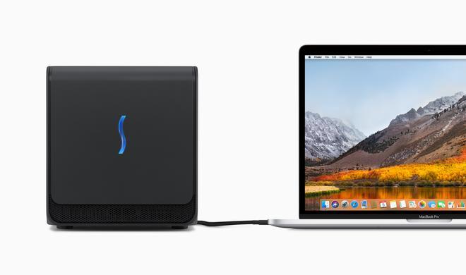 eGFX Breakaway Box: Externe Grafikpower für den Mac
