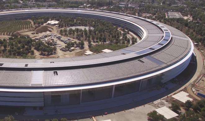 Apple Park: Jetzt schon viel zu wenig Platz