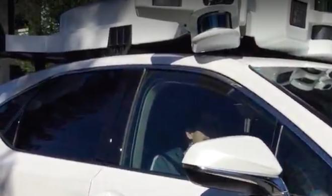 Projekt nimmt Fahrt auf: Apple-SUV mit neuem Laserscanner gesichtet