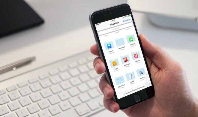 So erstellen Sie einen neuen Ordner in iCloud Drive am iPhone